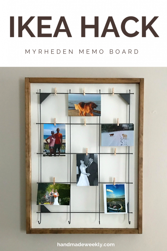 This before and after of the IKEA Myrhdeden is amazing! I love creative hacks!