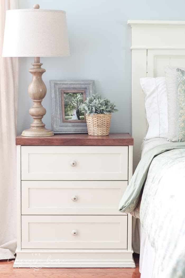 The IKEA Rast is a very popular furniture purchase because the ideas are endless. It is solid wood, and able to be painted or stained. Go check out this makeover!