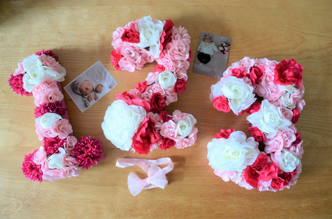 Sweet and Simple Projects - How to Make Flower Numbers by Petals Pies and Otherwise