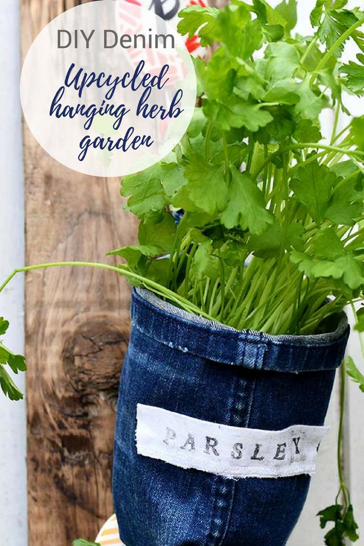 Sweet and Simple Projects - Indoor Herb Garden Planters by Pillar Box Blue