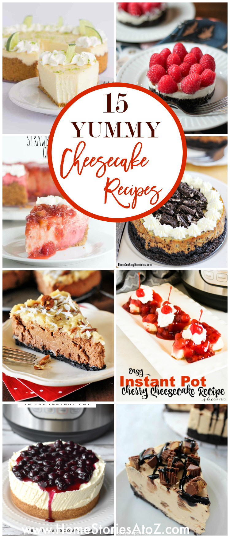 15 Yummy Cheesecake Recipes