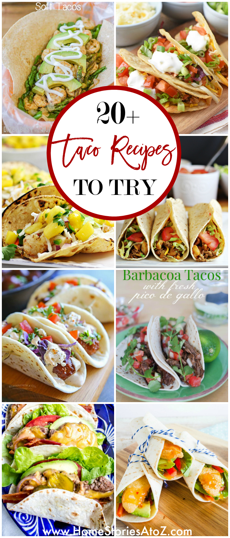 20 Delicious Taco Recipes to Try - Home Stories A to Z