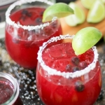 Best Fruity Margaritas - Blueberry Margarita by Take Two Tapas