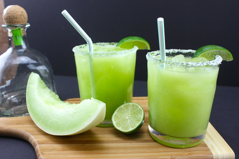 Best Fruity Margaritas - Honeydew Margaritas by Don't Sweat the Recipe