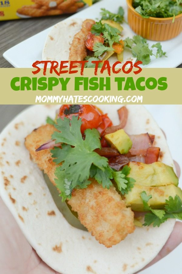 Delicious Taco Recipes - Crispy Fish Street Tacos by Mommy Hates Cooking