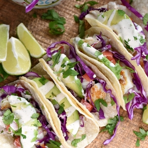 Delicious Taco Recipes - Fish Tacos by Cooking with Curls