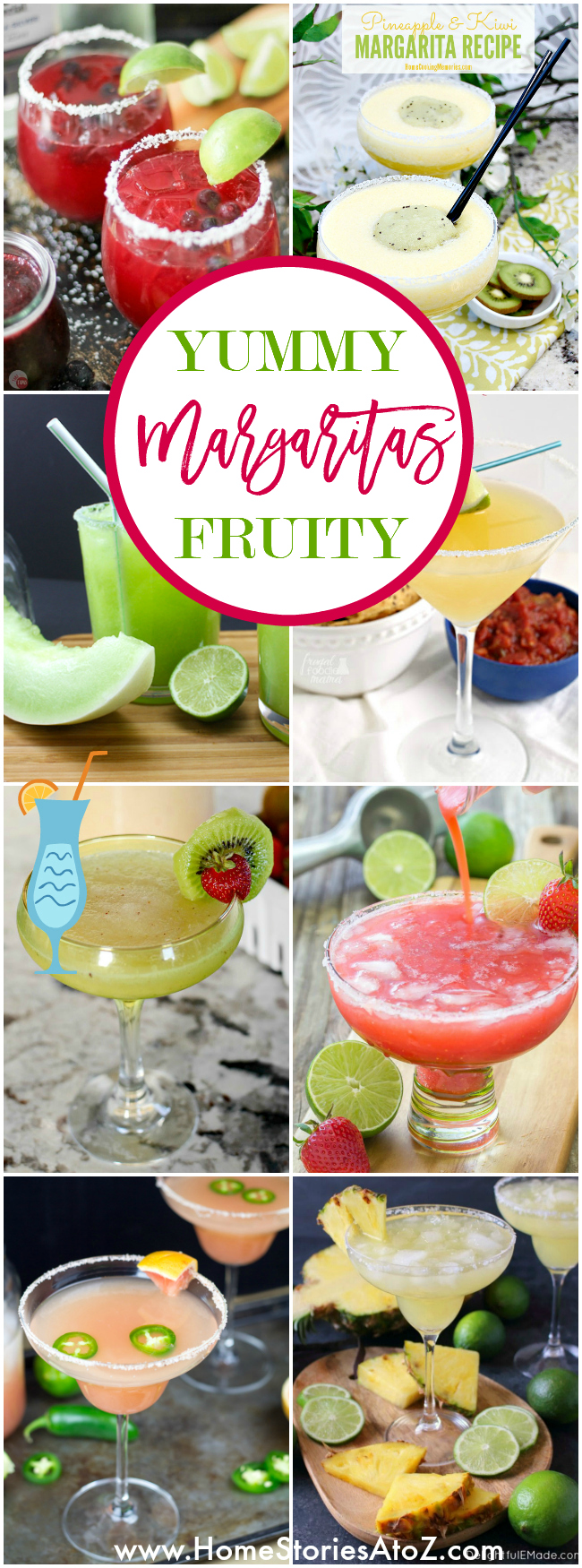 Yummy Fruity Margaritas - Home Stories A to Z