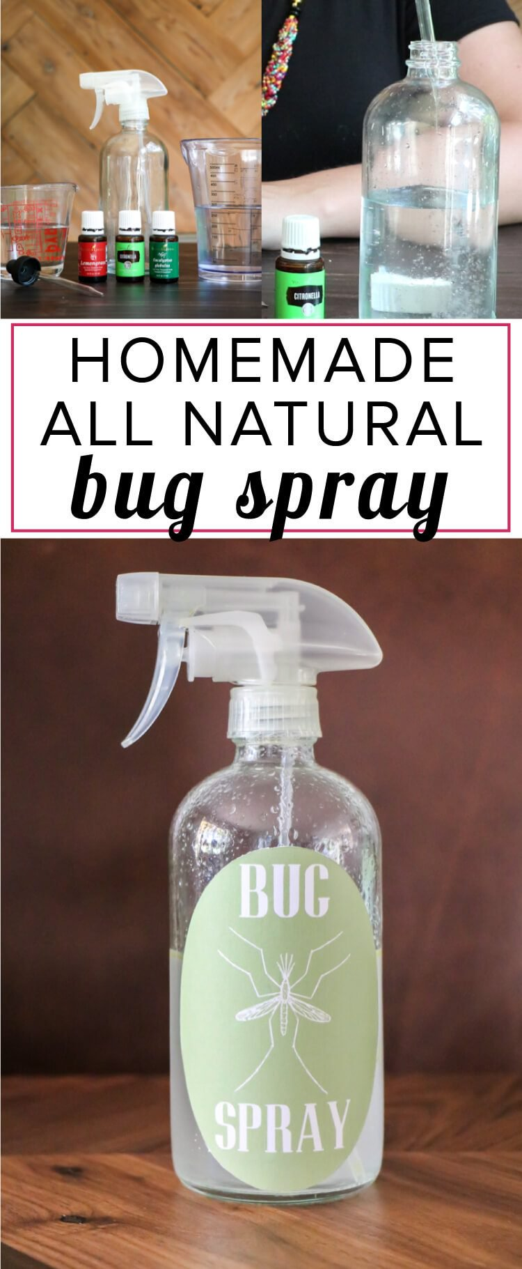How to Control Mosquitoes - DIY Bug Spray by Kaleidoscope Living