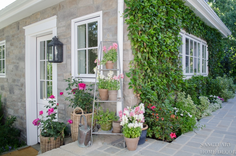 Unique Container Garden Ideas for your Porch or Patio - Baskets for Planters by Sanctuary Home Decor