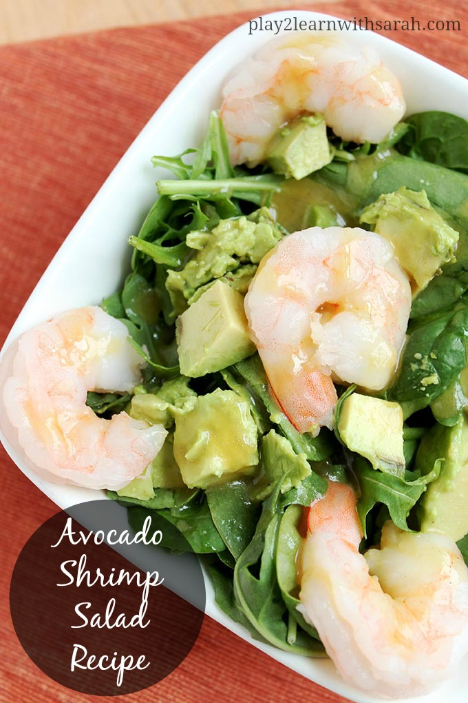 80+ Best Summer Recipes - Avocado Shrimp Salad Recipe by Life Love and Thyme