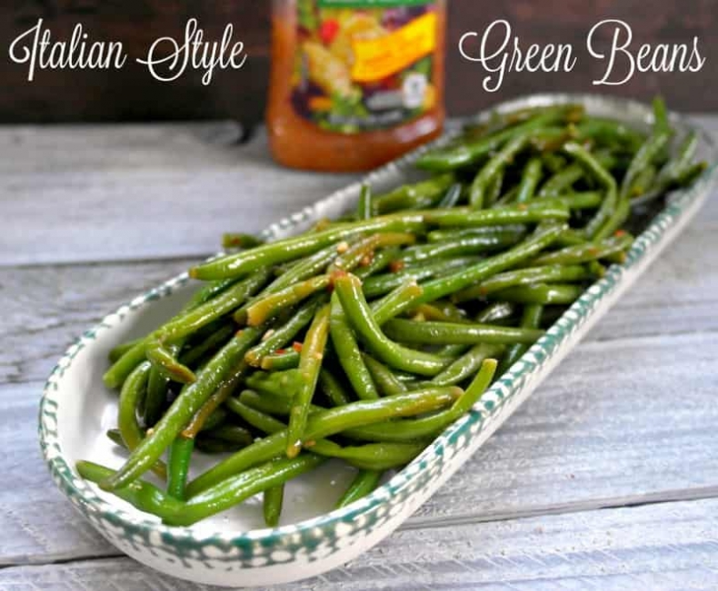 80+ Best Summer Recipes - Fresh Green Beans by Teaspoon of Goodness
