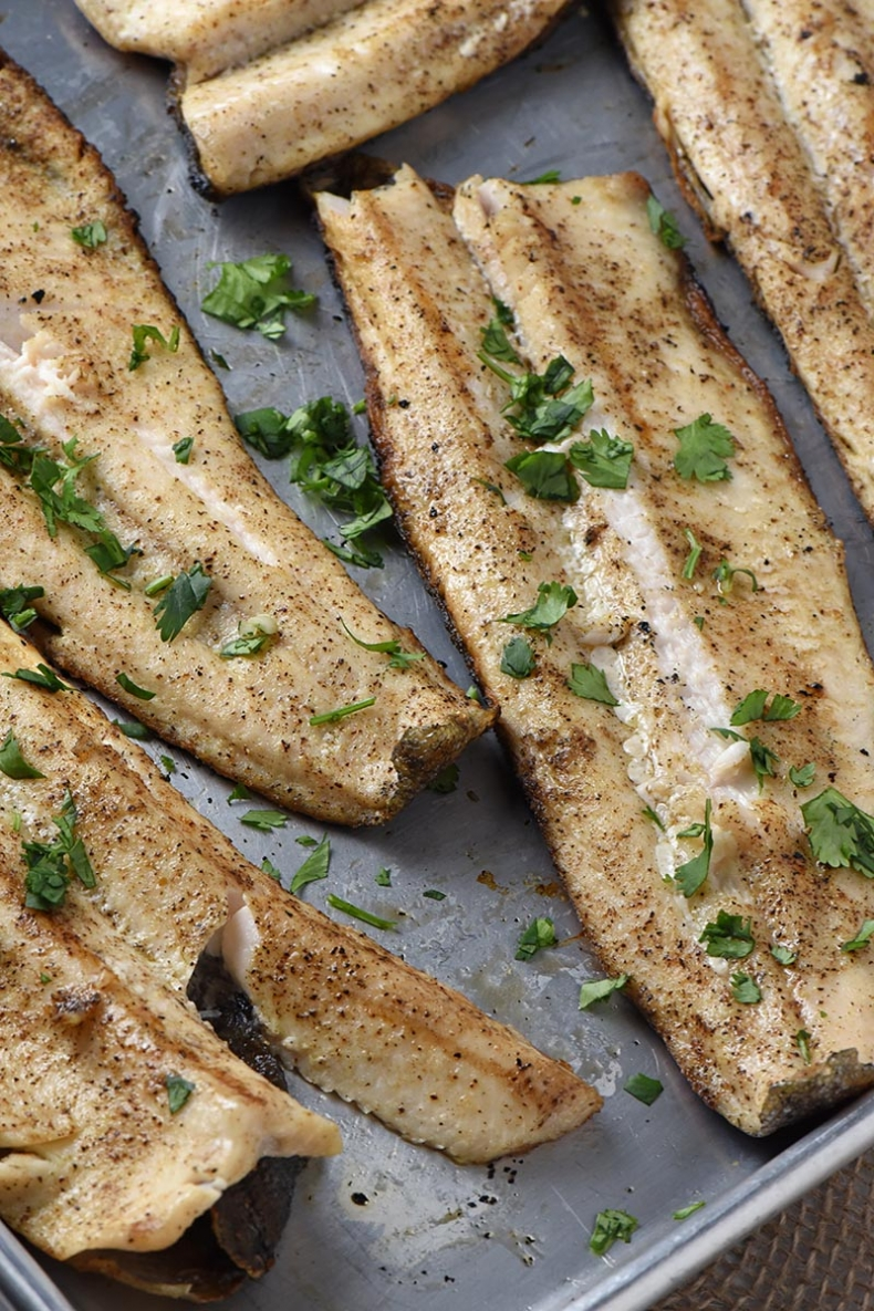 80+ Best Summer Recipes - Grilled Fish Fillets by Adventures of Mel