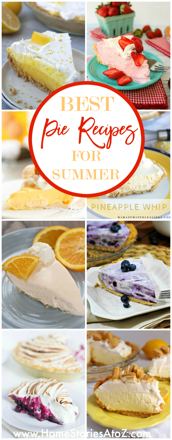 Best Pie Recipes for Summer - Home Stories A to Z