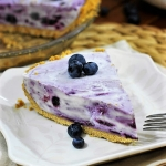 Best Summer Pie Recipes - Blueberry Cream Pie Recipe by The Kitchen is My Playground