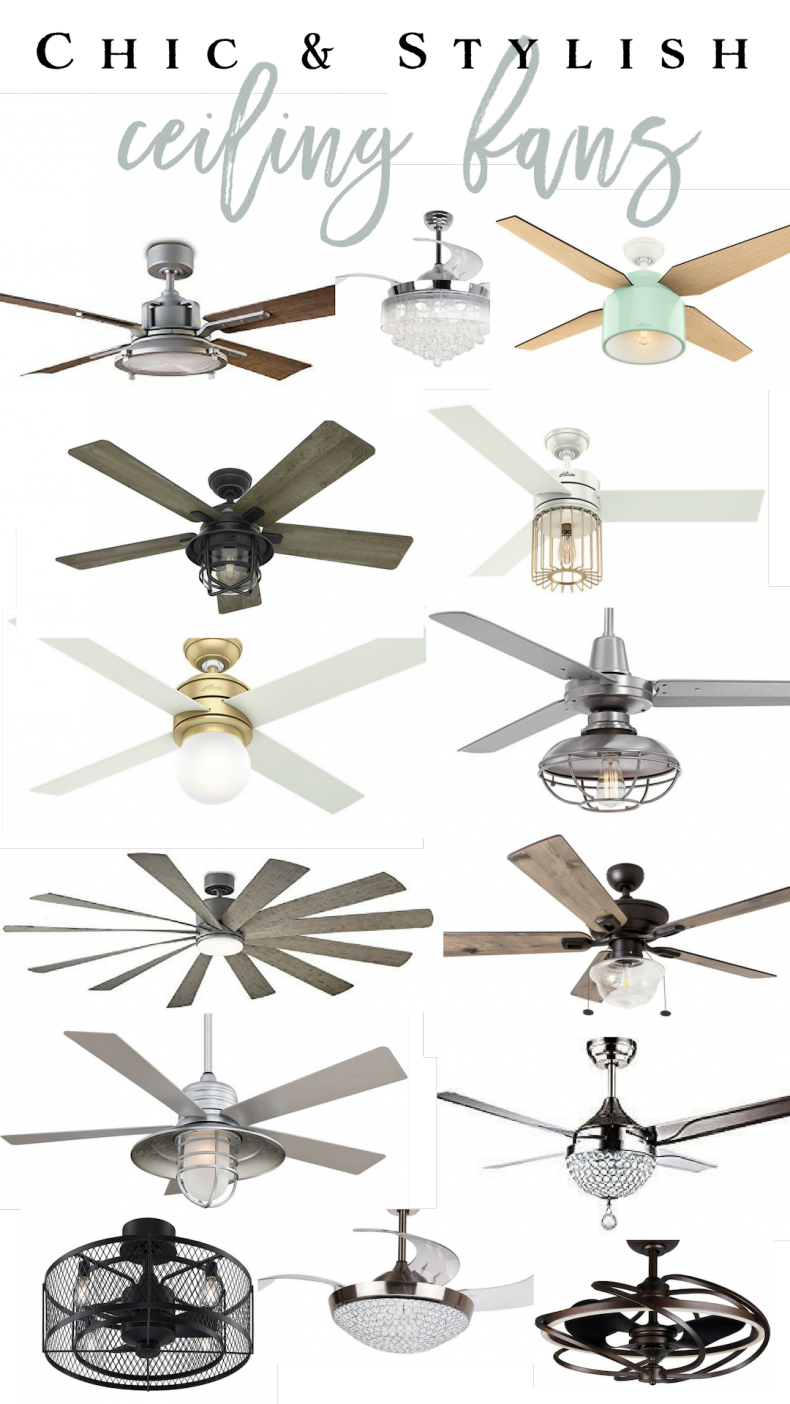 Farmhouse Ceiling Fans On Amazon  Chic And Stylish Ceiling