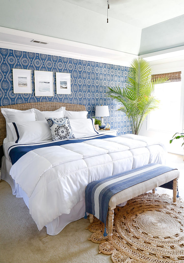 Beautiful Blue Bedroom Decor Ideas