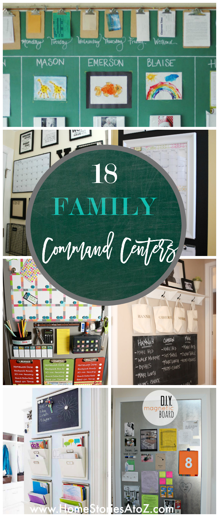 18 Family Command Centers by Home Stories A to Z