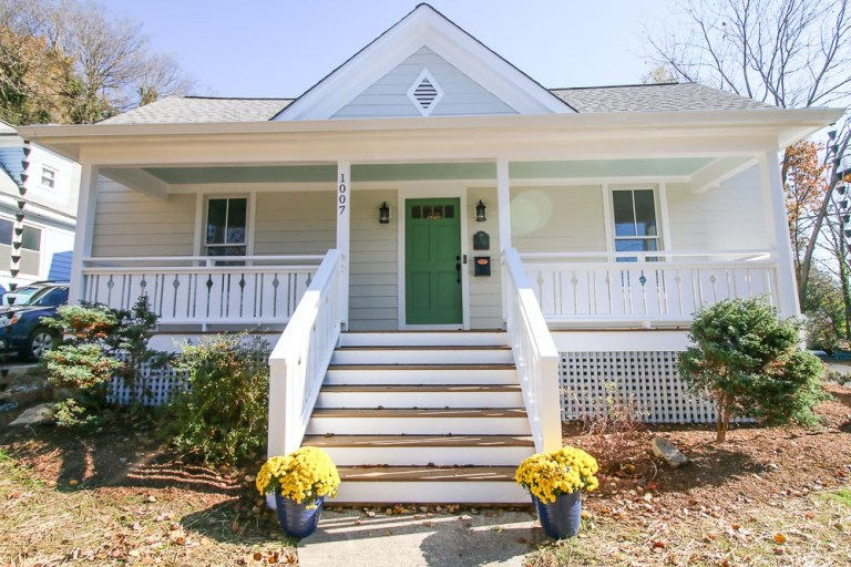 Affordable Home Exterior Renovations - 1900's Total Home Renovation by Pretty Handy Girl