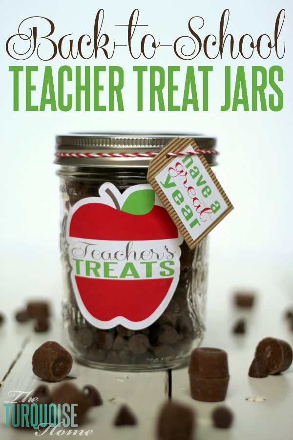 Back to School Fun Ideas - Back to School Teacher Treats by The Turqoise Home
