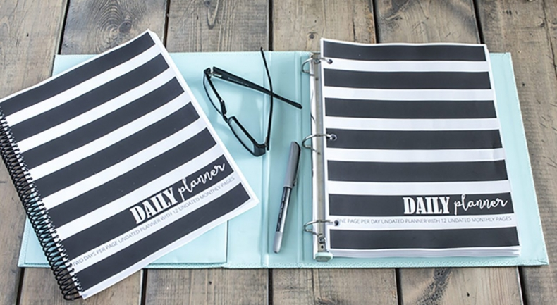 Back to School Fun Ideas - Daily Planner by Home Made Lovely