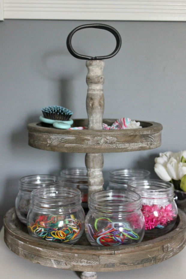 Back to School Fun Ideas - Organize Hair Accessories by Lindsay's Sweet World