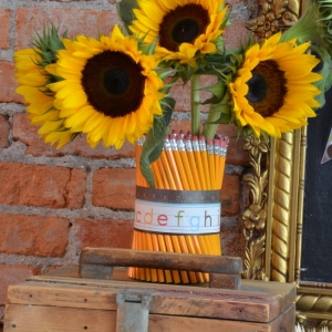 Back to School Fun Ideas - Pencil Vase by Home Stories A to Z