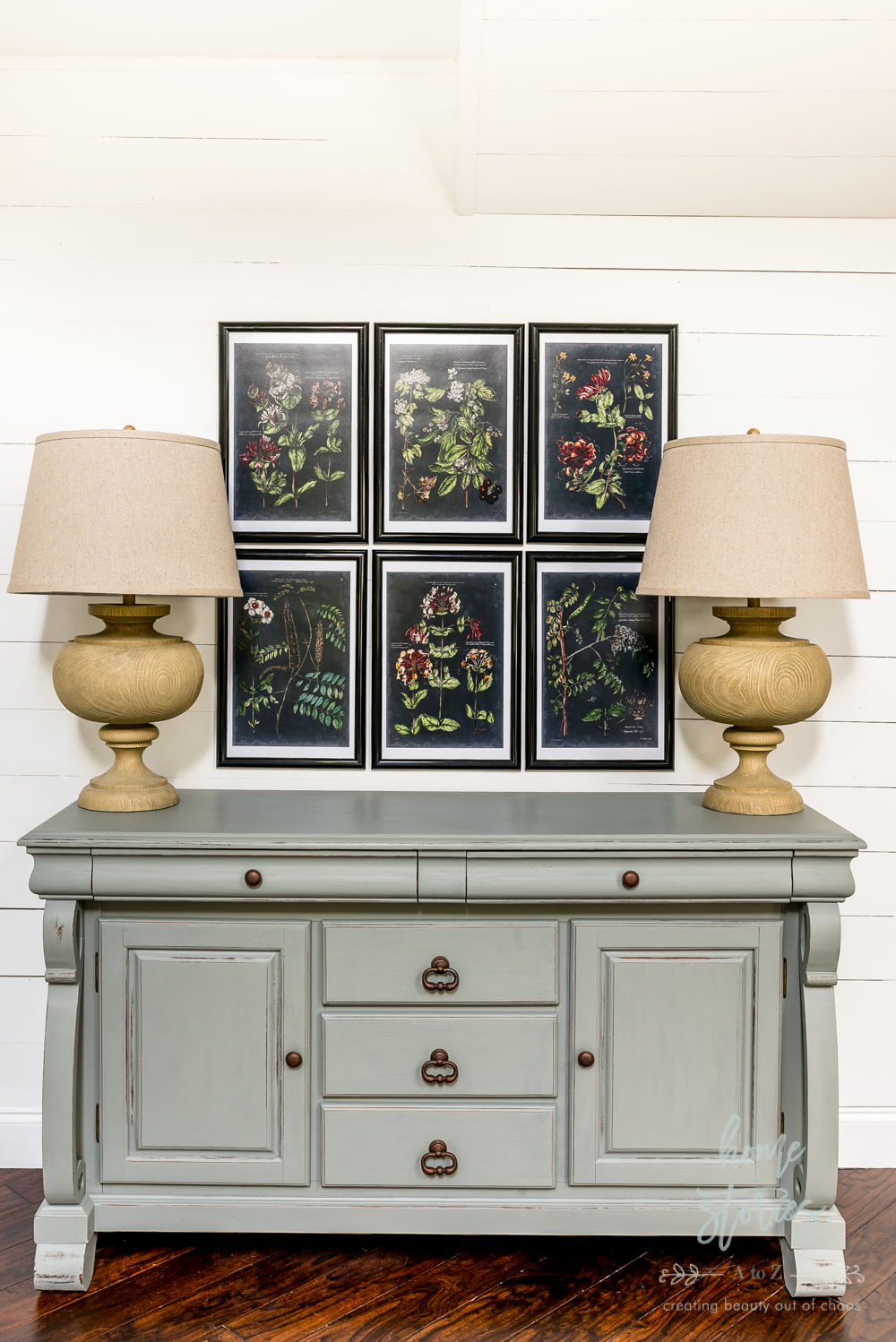 Painted Buffet Makeover Fusion Mineral Paint