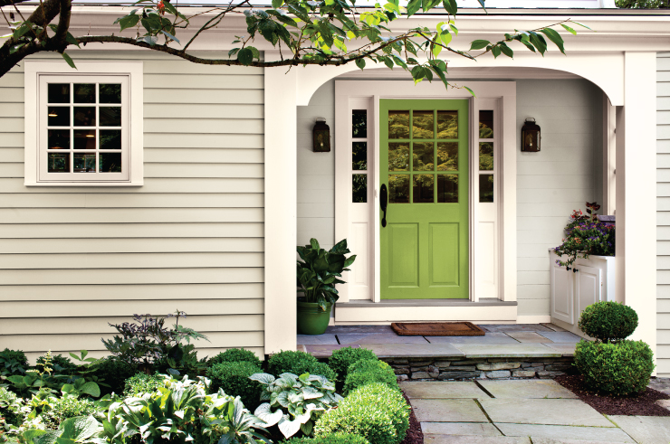 Beautiful Front Door Paint Color Ideas - Behr