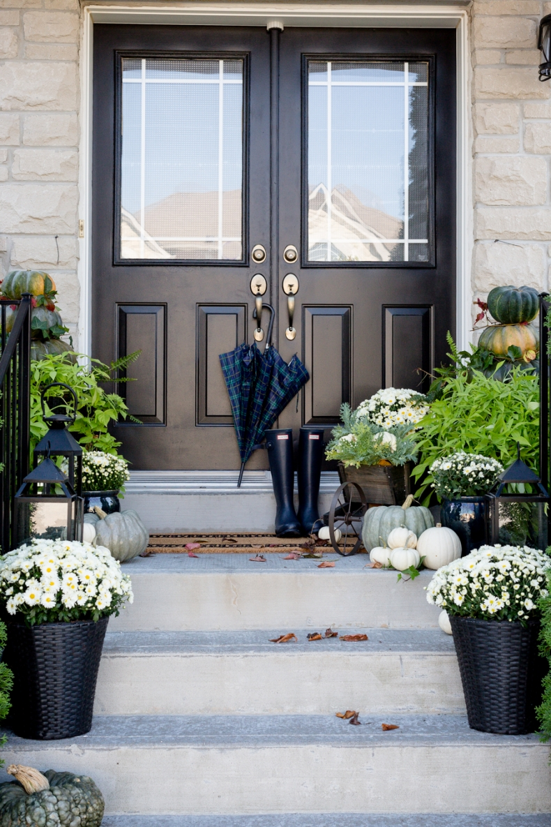 Beautiful Front Door Paint Color Ideas - Craftberry Bush