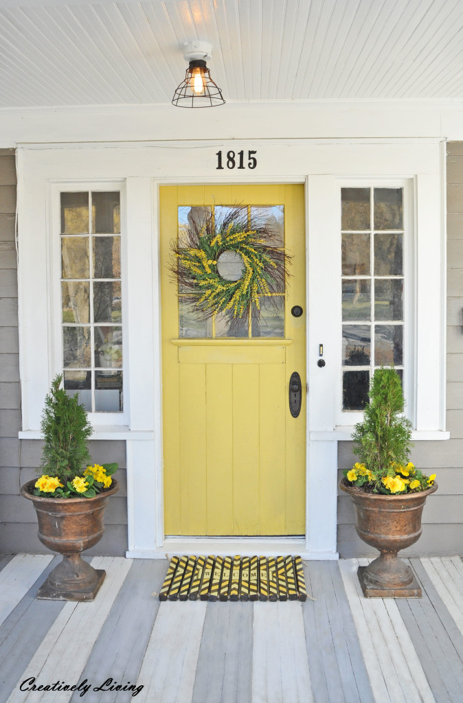 Beautiful Front Door Paint Color Ideas - Creatively Living