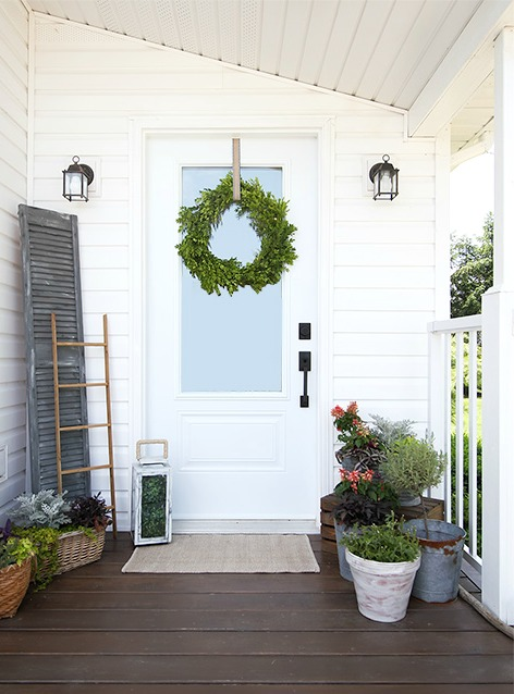 Beautiful Front Door Paint Color Ideas - Creek Line House
