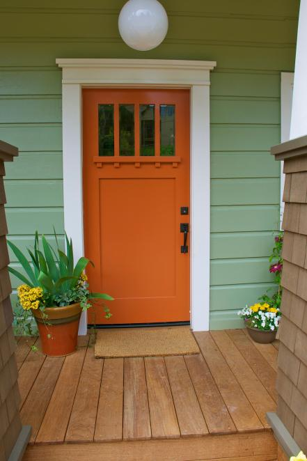 Beautiful Front Door Paint Color Ideas - HGTV