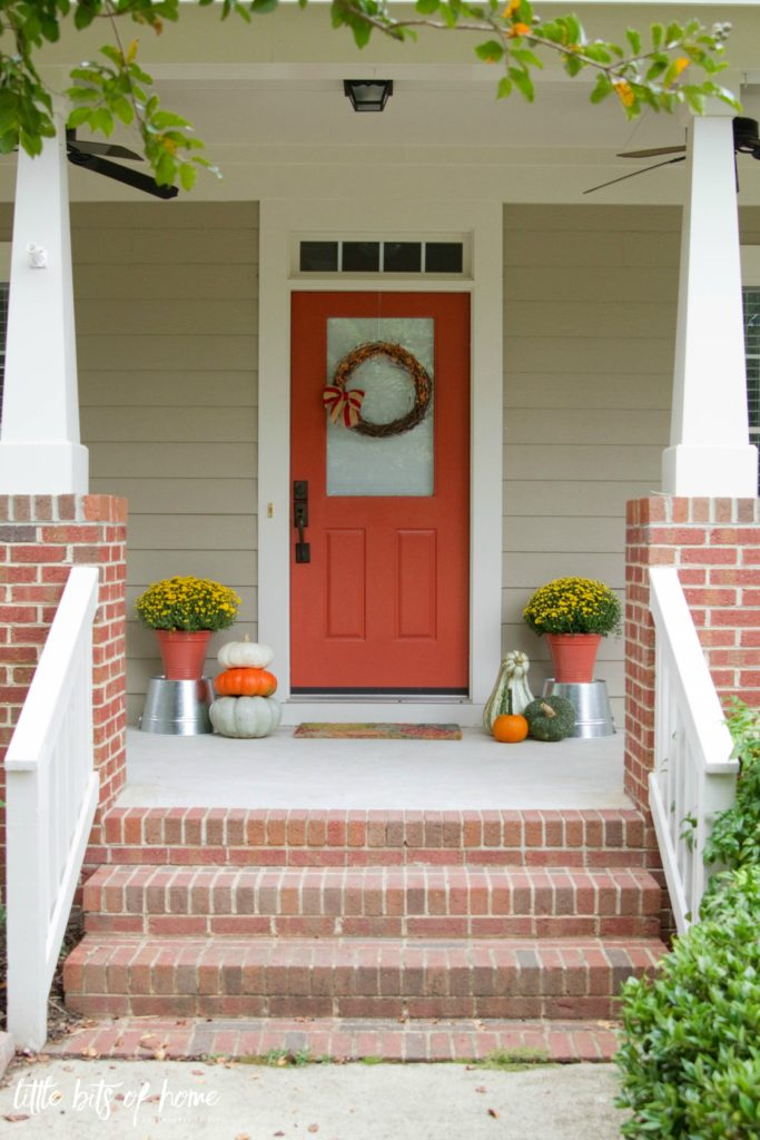 Beautiful Front Door Paint Color Ideas - Little Bits of Home