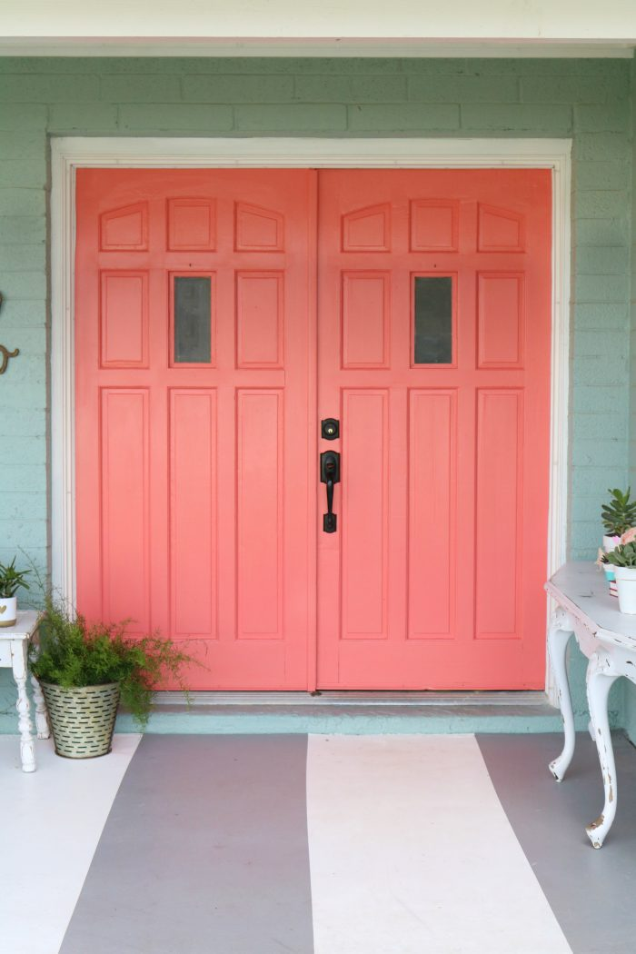 Beautiful Front Door Paint Color Ideas - Lolly Jane