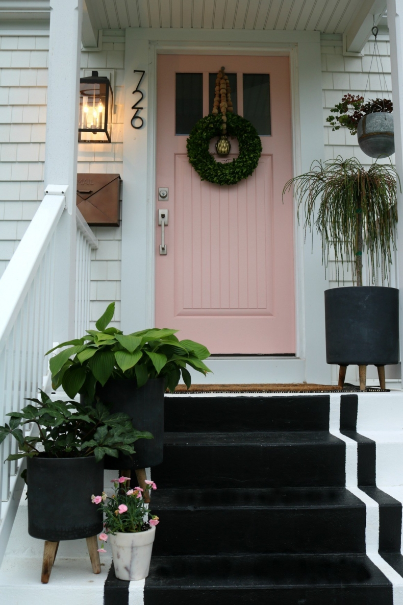 Beautiful Front Door Paint Color Ideas - Nesting with Grace