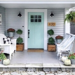 Beautiful Front Door Paint Color Ideas - Once Upon a 1912