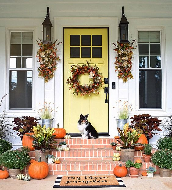 Beautiful Front Door Paint Color Ideas - Simply Southern Cottage