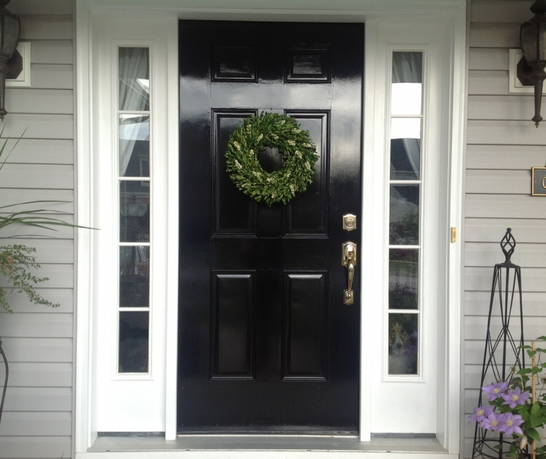 Beautiful Front Door Paint Color Ideas - Snazzy Little Things