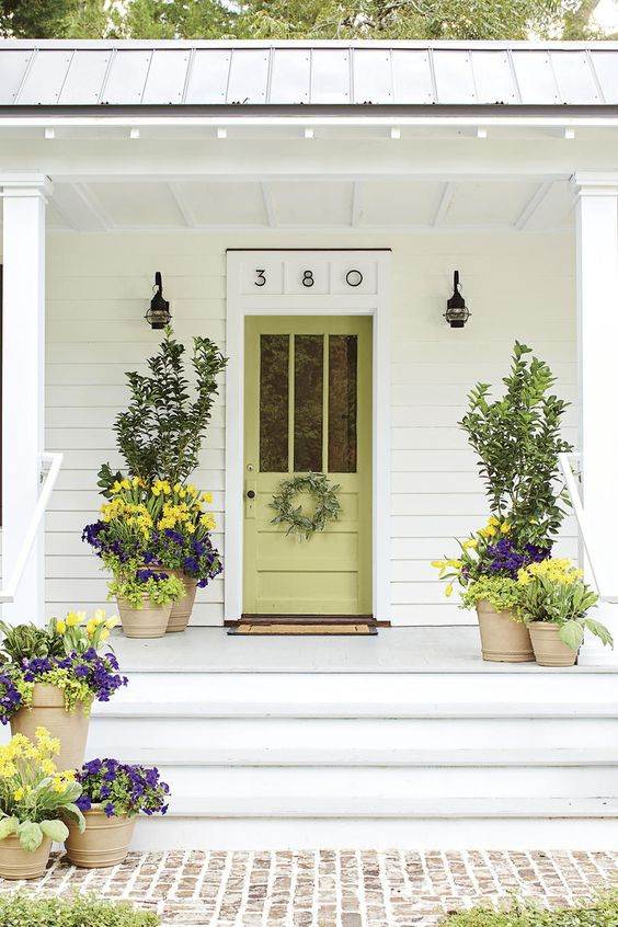 Beautiful Front Door Paint Color Ideas - Southern Living