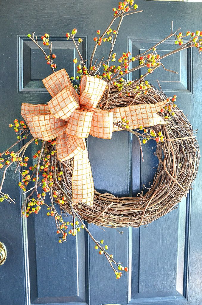 20 DIY Fall Wreath Ideas - 7 Fabulous Outdoor Fall Wreaths by Stone Gable Blog