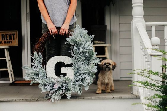 20 DIY Fall Wreath Ideas - DIY Fall Wreath by Liz Marie Blog