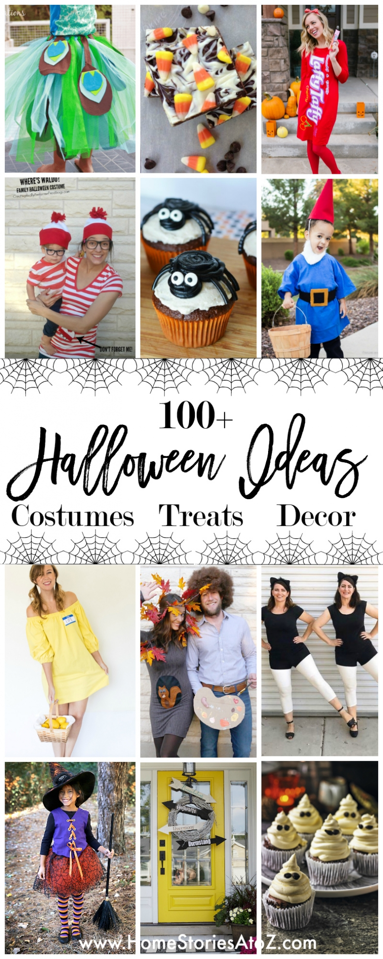 100+ Halloween Ideas - Costumes Treats Decor Halloween Ideas