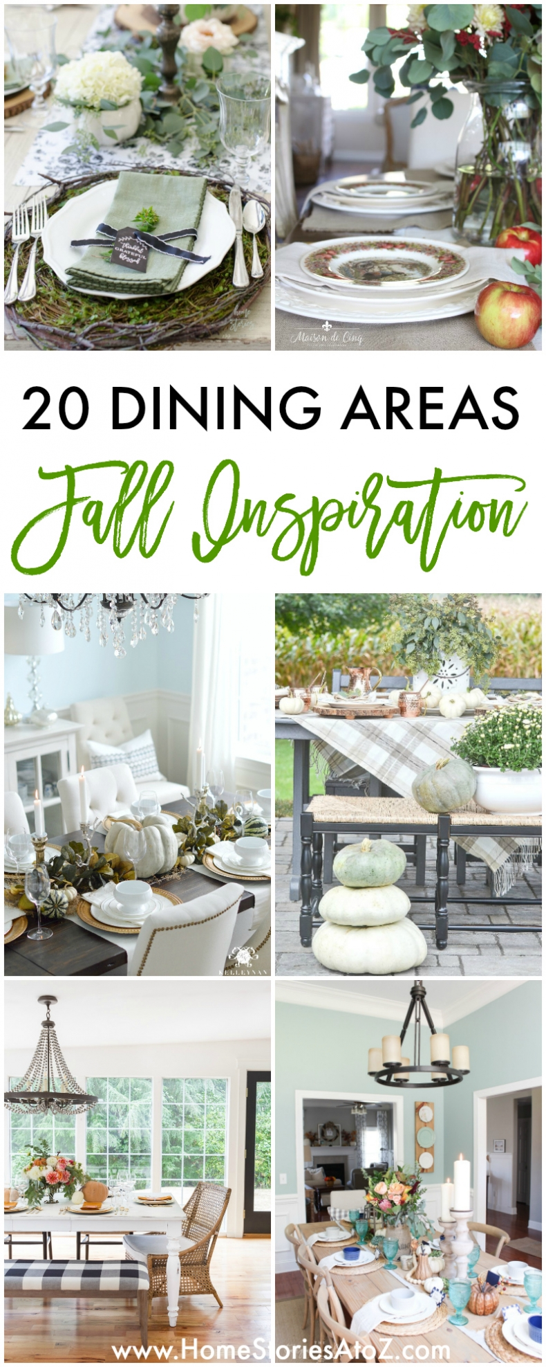 20 Dining Areas for Fall - Home Stories A to Z