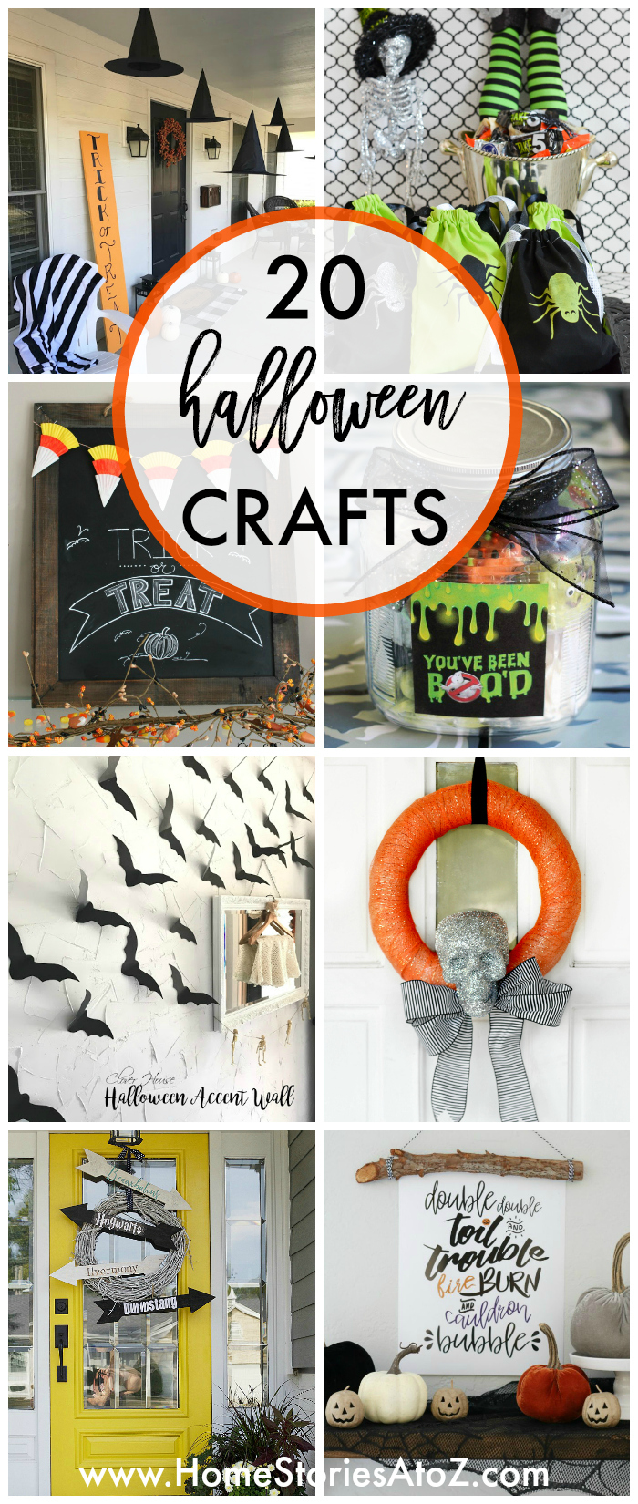 20 Halloween Craft Ideas - Home Stories A to Z