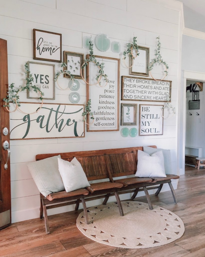 Fall Mudroom and Entryway Ideas - CottonStem