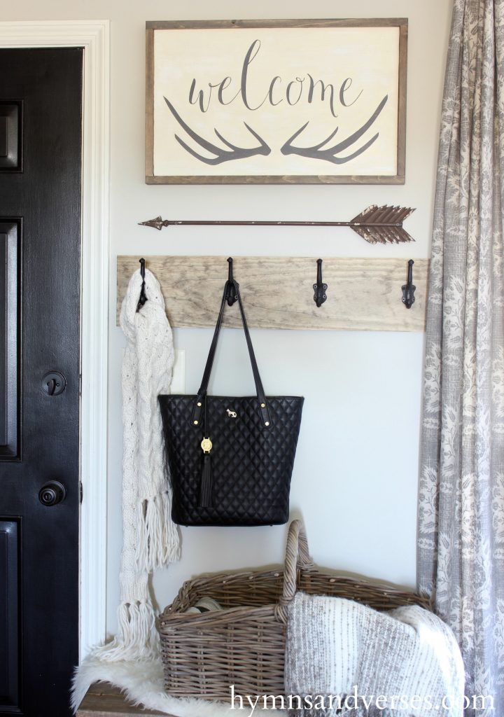 Fall Mudroom and Entryway Ideas - Entryway by Hymns and Verses