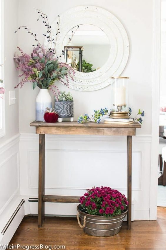 Fall Mudroom and Entryway Ideas - Entryway by Jenna Kate at Home