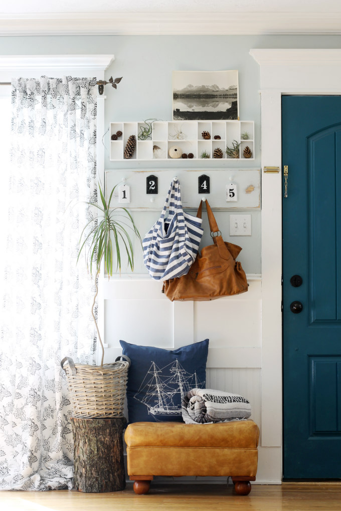 Fall Mudroom and Entryway Ideas - Entryway by The Wicker House