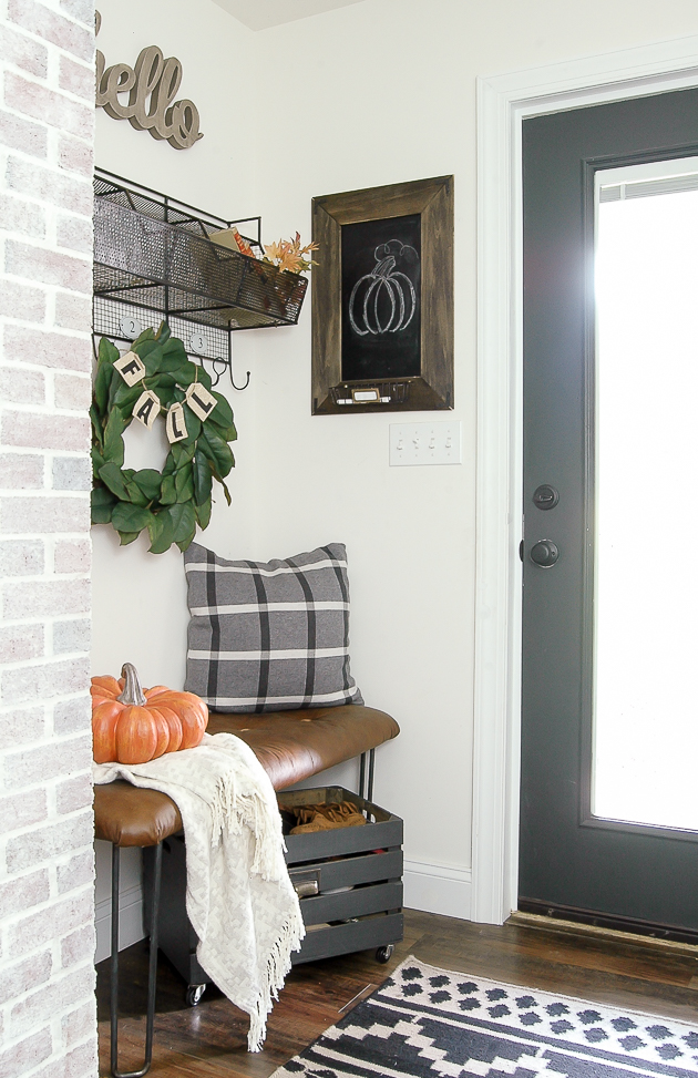 Fall Mudroom and Entryway Ideas - Little House of Four