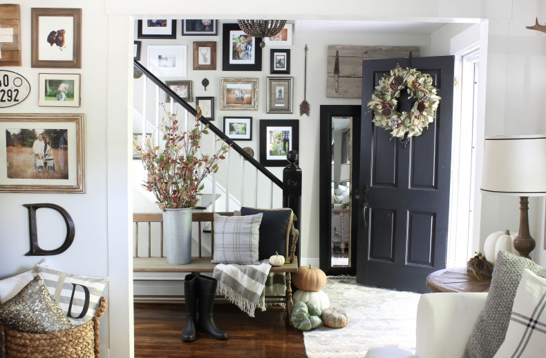 Fall Mudroom and Entryway Ideas - Rooms for Rent